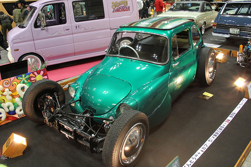 Japan Delivering like only Japan can with this 360 hot rod built by Soul Art N Rod