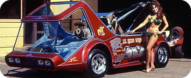 Until this very day I had no idea that Redd Foxx and George Barris had any connection but apparently George built this for Foxx