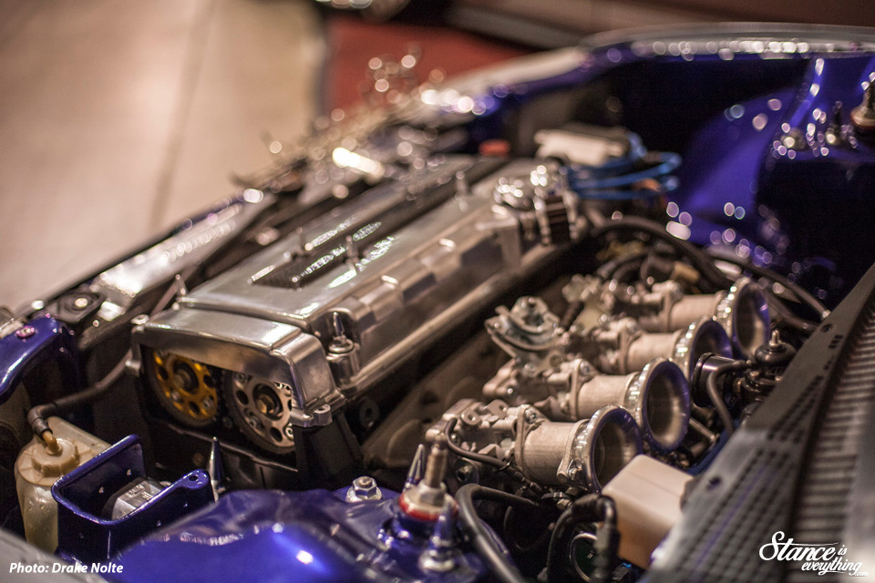 Petey's EF is another car that is hard not to shoot