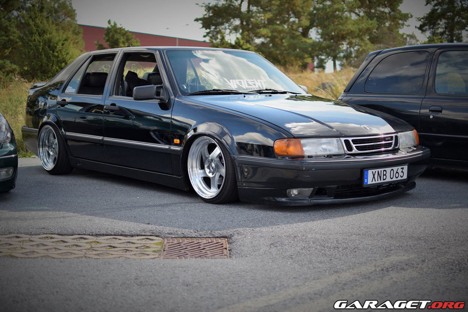 This Saab 9000 is stellar...