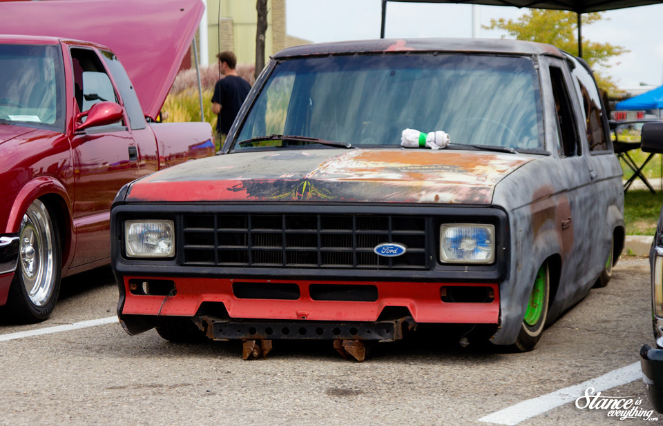 Northern Showdown 2015 Ford Bronco Stance Is Everything