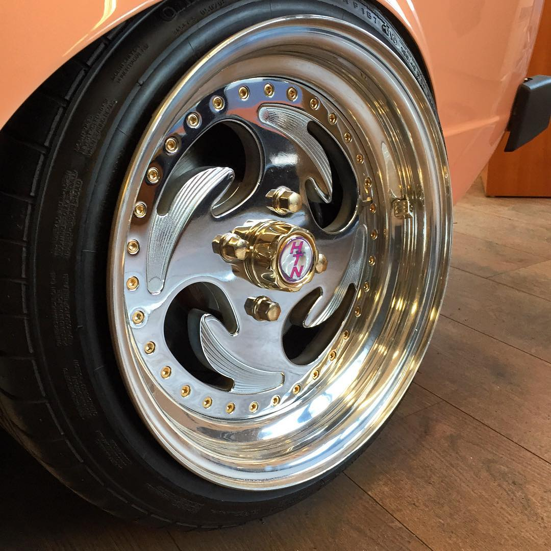 On a bit of a VW/billet roll here, these HTN wheels on @remux car are the only ones I've ever seen