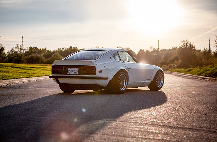 The Appeal Of A Fairlady: Tim's '72 G Nose Datsun 240