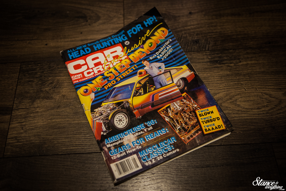 About A Third Of Way Through There It Was The Pro Street Holy Grail Cover Feature On Dobbertins Double Boosted And Blown Small Block